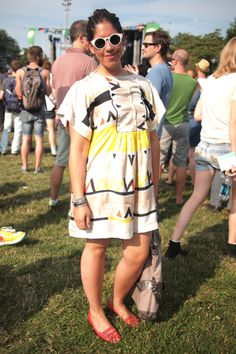 Street Style At The Pitchfork Music Festival | Festival Fashion