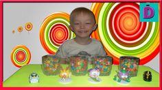 СЮРПРИЗЫ Игрушки в Разноцветных конфетах SURPRISES Toys in Colorful candy