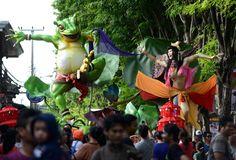 Neujahr auf Bali: Dämonen für die Ogoh-Ogoh-Parade - SPIEGEL ONLINE - Reise