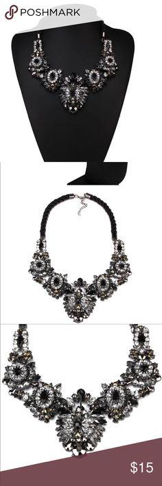 New Statement Necklace Stunning Stunning Statement Necklace dallas stylez Jewelry Necklaces