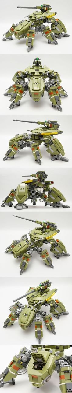 Amazing Lego mech and body suits creations.
