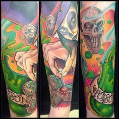 A selection of work, from one of the featured artists at the North East Tattoo Expo 2014, held at The Arc Stockton on the 14th -15th June 2014 www.northeasttatt... #northeasttattooexpo #tattoo #northeast #tattooartist #tattooconvention #tattoos #kenpatten