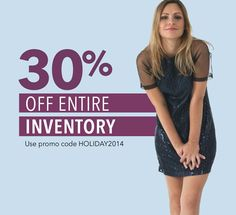 30% off entire inventory? Not joking. Shop now at www.stitchappeal.com and don't forget our promo code HOLIDAY2014 #stitchappeal #fashion #style #onsale