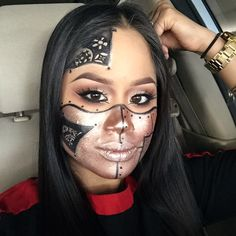 SteamPunk by makeupbycass. Tag your pics with #Halloween and #SephoraSelfie on Sephora's Beauty Board for a chance to be featured!