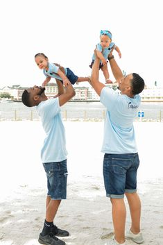 Proud papas Terrell and Jarius Joseph recently took twins Ashton and Aria to Orlando on their first ever vacation! Read on for how their first vacation as a family went and what their favourite memories are. Rainbow Family, Rainbow Pride, Future Days, Lgbt Love, Orlando Vacation, Family Goals, Beautiful Family, Memories, Couple Photos