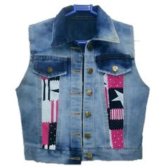 Women/Girl/Top/Cotti/Blazer/Denim Open Jacket