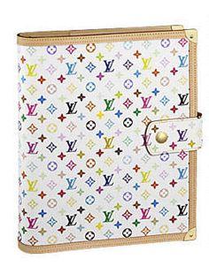 Louis Vuitton Monogram Multicolore Large Ring Agenda Profile Photo Louis  Vuitton Multicolor 0104a53aa7ec