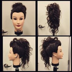 Crazy Suzy got some tattoos & a faux hawk updo today. She was feeling edgy. #crazysuzy #adventuresofcrazysuzy #deluxedebra #paulmitchell #cosmo #cosmetology #edgy #fauxhawk #fauxhawkupdo #updo #playtime #justmessinaround #notsurehowIfeelaboutit #hairbydevincameron #stylebydevinranae