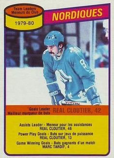 Hockey Cards, Baseball Cards, Quebec Nordiques, Play, Nhl