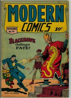Modern Comics 79 (G+ 2.5)