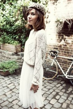Didn't think it'd work, but... //alexa chung for vero moda