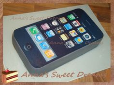 Iphone cake tutorial