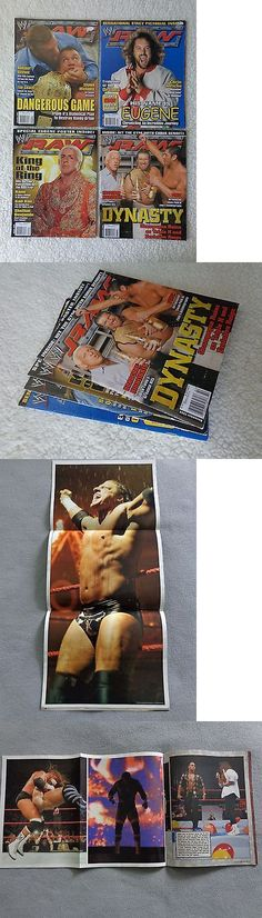 Magazines: Lot Of 4 Wwe Raw Magazine 2004 August, October, September And November -> BUY IT NOW ONLY: $9.99 on eBay!