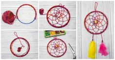 Make an enchanting dreamcatcher with this simple DIY Dreamcatcher tutorial. A brilliant craft activity for children especially tweens and teens.
