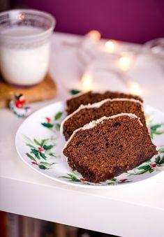 Skandynawskie ciasto imbirowe
