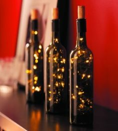 DIY Wine Bottle Lamps   Wine Bottle Crafts   Home Decor Crafts � Country Woman Magazine