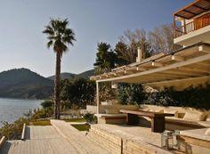 Outdoor view, 5 meters from the sea Pergola, Villa, Outdoor Structures, Sea, Outdoor Pergola, The Ocean, Ocean, Fork, Villas