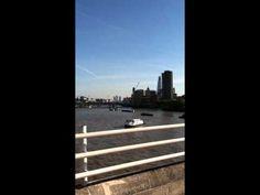 Not a great video, but Waterloo bridge has the best views in London!