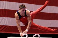 Those muscles ♥ So sad he didn't make the Olympic team Chris Brooks