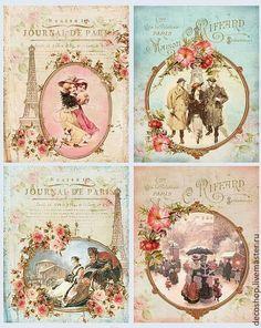 Vintage parisian printable