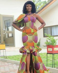 African Evening Dresses, Best African Dresses, African Fashion Skirts, African Traditional Dresses, African Print Dresses, African Attire, African Wear, African Print Dress Designs, African Print Clothing