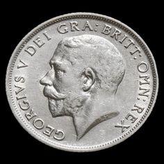 1914 George V Silver Shilling – VF