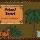 In celebration of the end of a yearlong school adventure, this animal safari activity can be a culmination of fun activities where the students are...