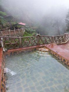 Hot Springs near Xela, Guatemala