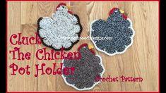 Pot Holder Crochet Pattern Posh Pooch Designs Dog Clothes Cluck The Chicken Pot Holder Posh Pot Holder Crochet Pattern 50 Free Crochet Potholders And Trivets Patterns Oombawka Design. Form Crochet, Crochet Art, Crochet Round, Irish Crochet, Crochet Geek, Double Crochet, Crochet Potholder Patterns, Crochet Mittens, Crochet Blanket Border