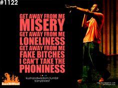 Kanye West Quotes Tumblr | ... fake bitches kanye kanye west kanye west quotes kushandwizdom lonely