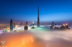 https://flic.kr/p/rVq1S5 | Cryogenic Blue Hour | Morning blue hour with a thick layer of fog surrounding Burj Khalifa.  My website: www.danielcheongphotography.com  Please visit my Facebook Page  Join me on 500px |  Instagram | Google+ | Facebook | Twitter