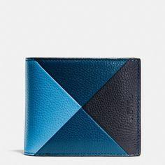 <li> Pebble leather<li> Credit card and multifunction pockets<li> Full-length bill compartments<li> ID window<li> 11cm (L) x 9.5cm (H) x 3cm (W)