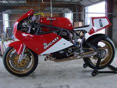 Yellow Bike III 1988 Ducati 750F1 by loudbike by loudbike, via Flickr