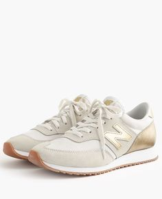 6ce7afd72cb7 Women s New Balance® for J.Crew 620 sneakers gold metalic - big womens  shoes, where to buy womens shoes, buy womens shoes