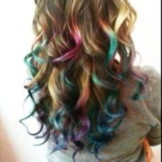 Wish I could do this to my hair for like a week!