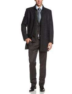 Benvenuto Herren Wollmantel Regular Fit: http://www.king-of-shopping.com/guenstig/benvenuto-herren-wollmantel-regular-fit/