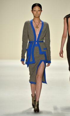 NYFWeek - Katya Zol Fall Winter 2014, Mercedes Benz, Ready To Wear, Runway, Textiles, My Style, How To Wear, York, Fashion