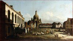 Bernardo Bellotto - Neumarkt in Dresden [1747]   Flickr - Photo Sharing!