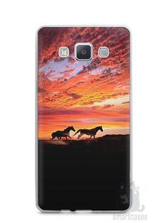 Capa Capinha Samsung A7 2015 Cavalos #1 - SmartCases - Acessórios para celulares e tablets :)