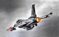 F-16 Fighting Falcon Afterburner | 16 Fighting Falcon, afterburner, aircraft, armed, military