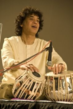 Zakir Hussain, Master of the tabla