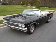 Favorite Convertible of all time :  1965 Chevrolet Impala SS Convertible