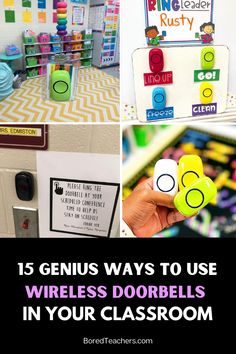 15 Genius Ways to Use Wireless Doorbells in Your Classroom Teaching Plan, Teaching Activities, Teaching Kindergarten, Classroom Activities, Teaching Resources, Teaching Ideas, Classroom Jobs, Special Education Classroom, Classroom Organization