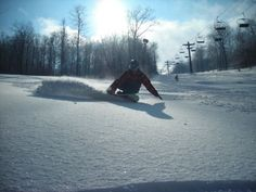 Blue Knob Ski Resort - PA  Great Skiing, no snow bunnies