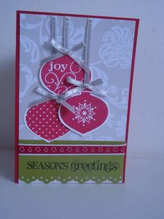 Delightful Decorations by JoanneHerbert - Cards and Paper Crafts at Splitcoaststampers