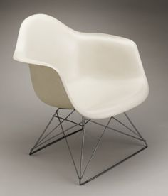 Charles and Ray Eames for Herman Miller Furniture Company, Chair, c. 1950, Los Angeles County Museum of Art, gift of the employees of Herman Miller, Inc., © The Charles and Ray Eames Estate