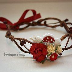 Image of Toadstool Flower crown