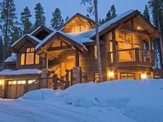 15 best our favorite mountain homes images on pinterest for Cabins for sale near breckenridge co