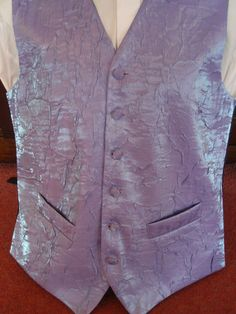 Mens Lilac wedding or evening waistcoat various sizes available | eBay    Nottm Weddings onto Purple - 01 Dusky Lilac Wedding Inspiration Board
