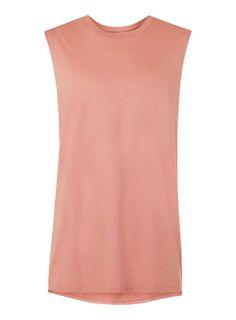 Pink Oversized Tank Vest - New In- TOPMAN